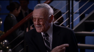 Diane's co-star, Stan Lee